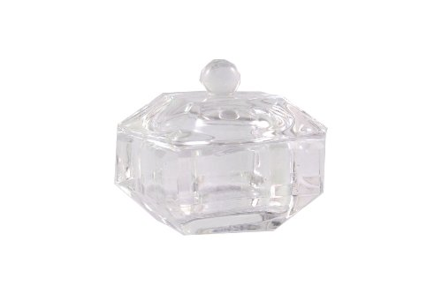 Monomer Glass dappen dish Clear Square