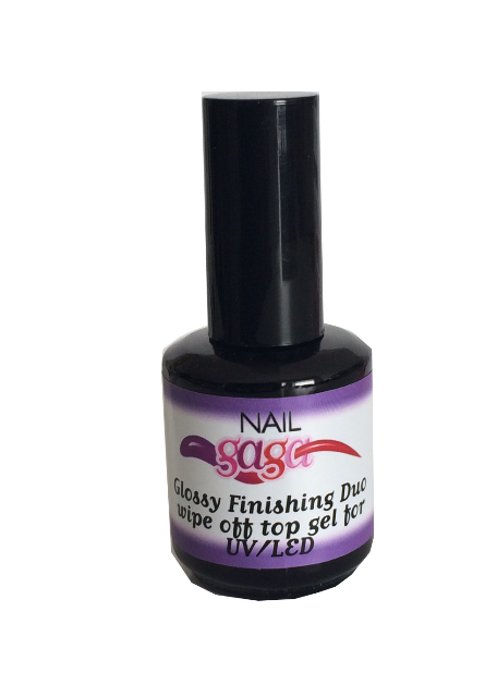 Duo Glossy finishing Wipe Off Gel Top Coat 10ml
