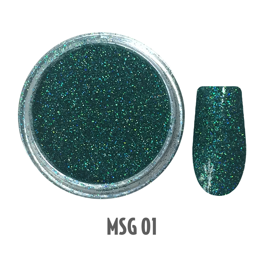 Micro Shimmer Glitters 1-12