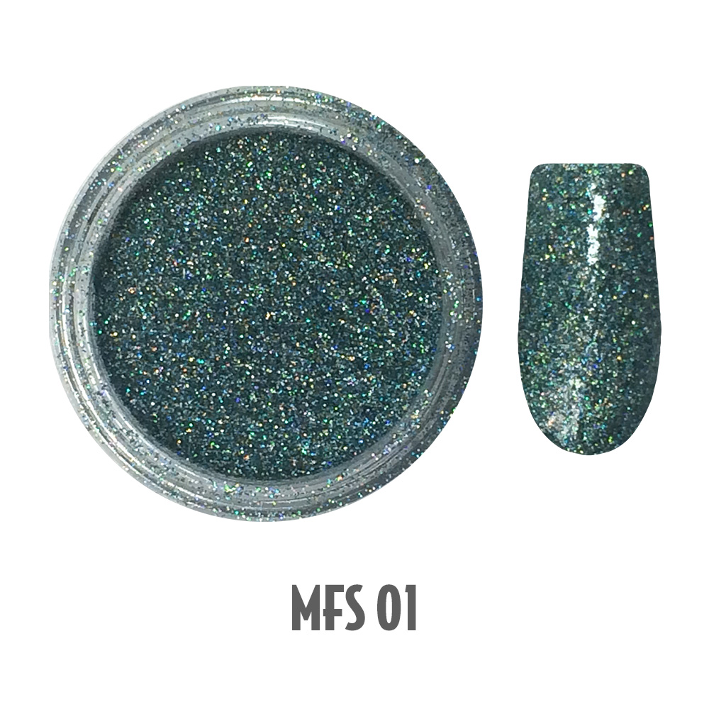 Micro Fine Shimmer Glitters 1-12