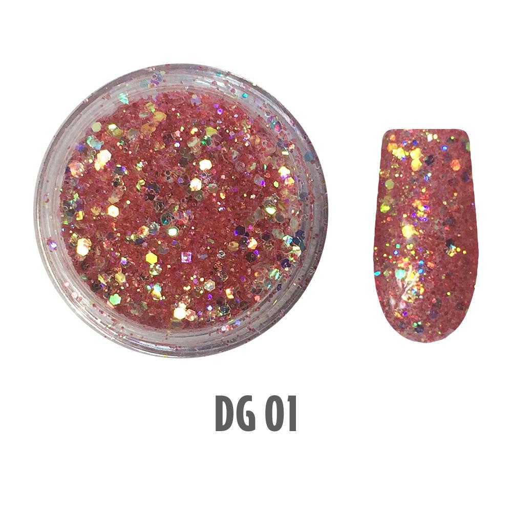 Glitter Deal 60 glitters + tech case