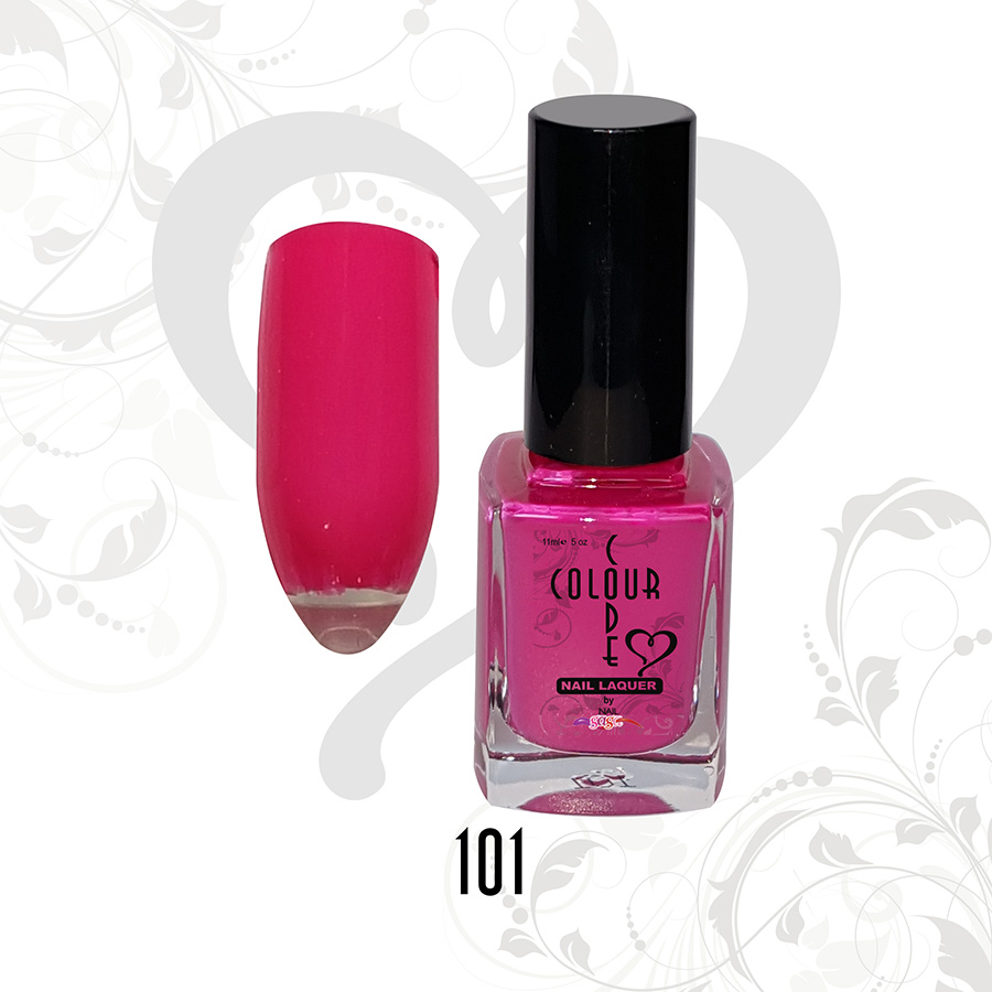 Color Code Nail Laquer 101