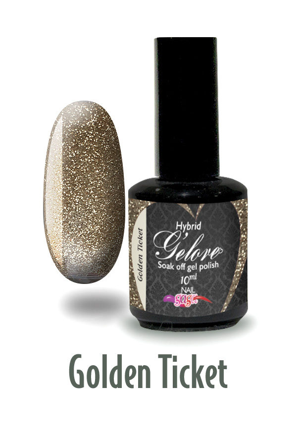 G'elore Gel Polish - GOLDEN TICKET
