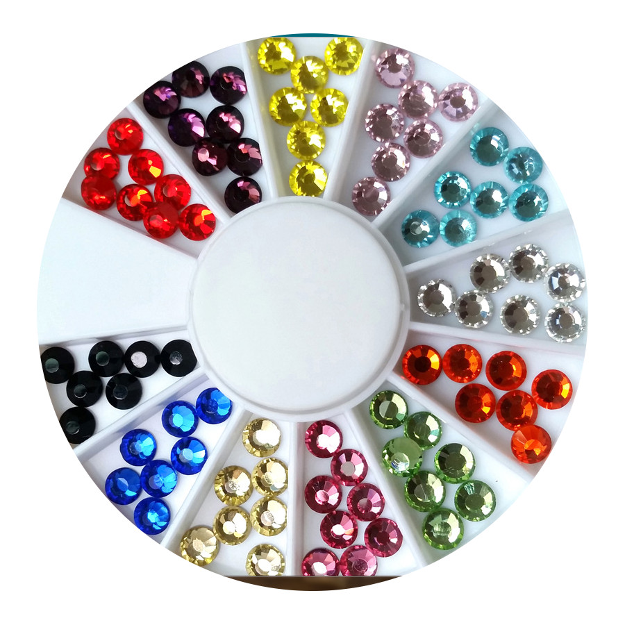 RUSSIAN CRYSTALS 120 MIXED COLOURS SET A