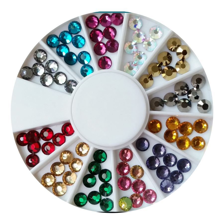 RUSSIAN CRYSTALS 120 MIXED COLOURS SET B