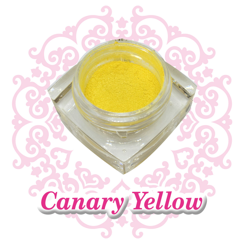 Nail Pigment - Canary Yellow