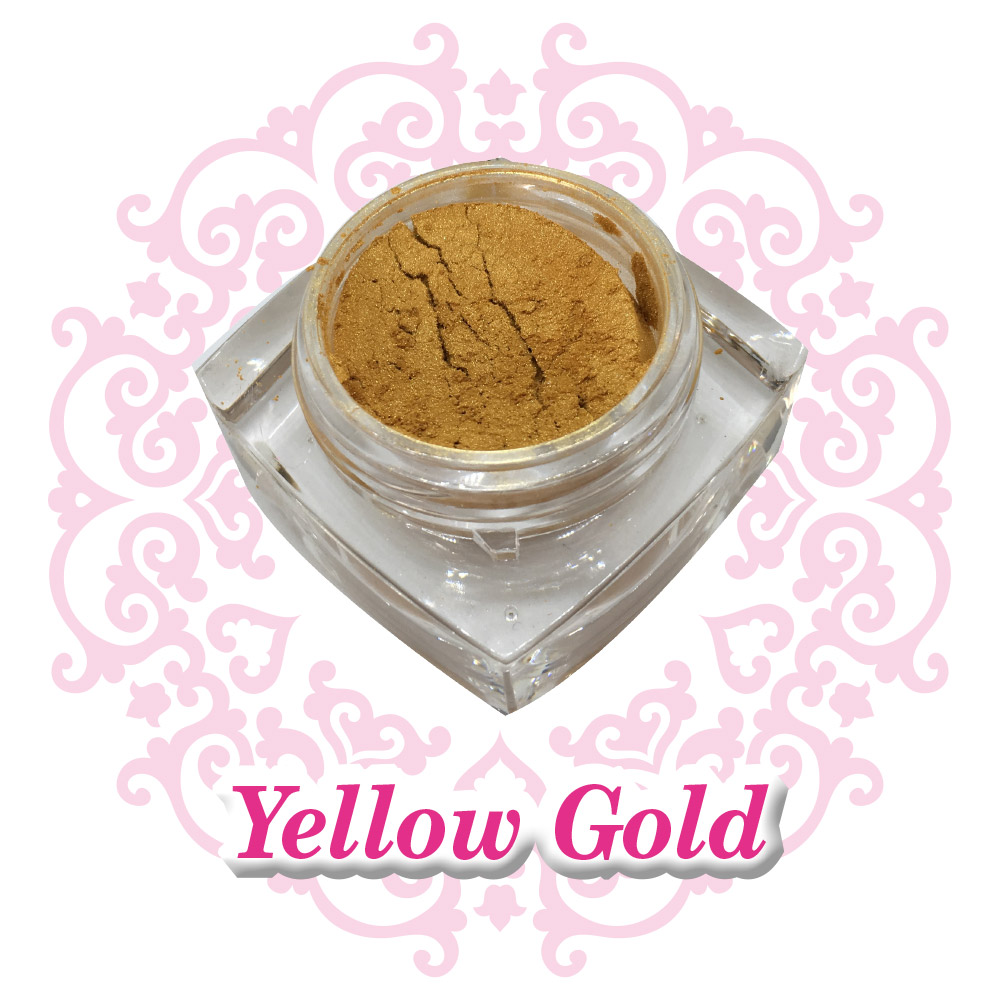 Nail Pigment - Yellow Gold