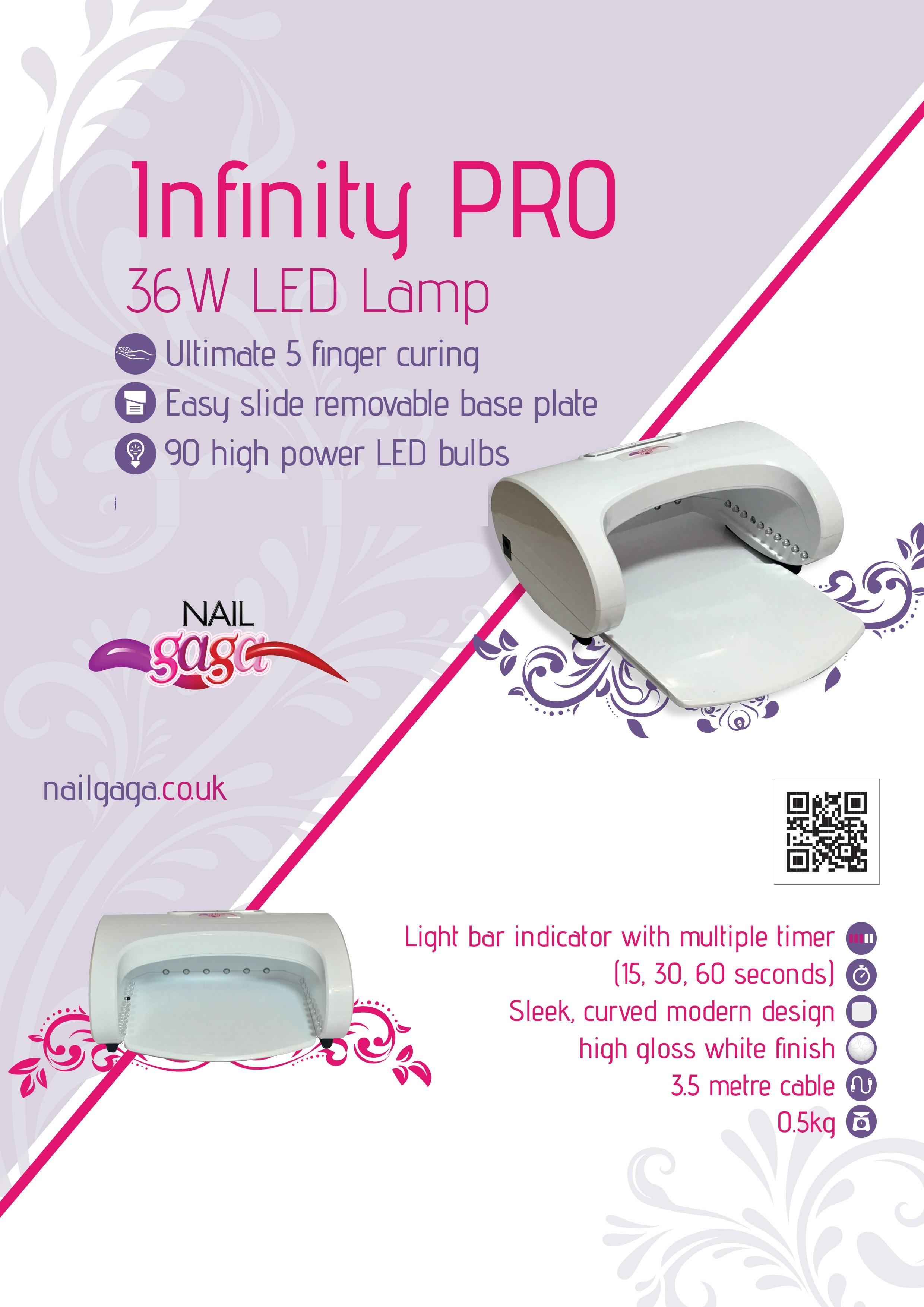 Infinity Pro 36w  LED Nail Lamp